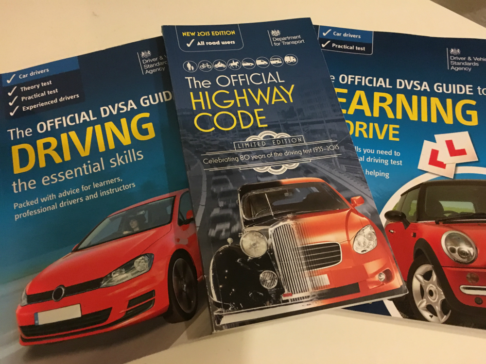 Recommended books for driving theory test revision