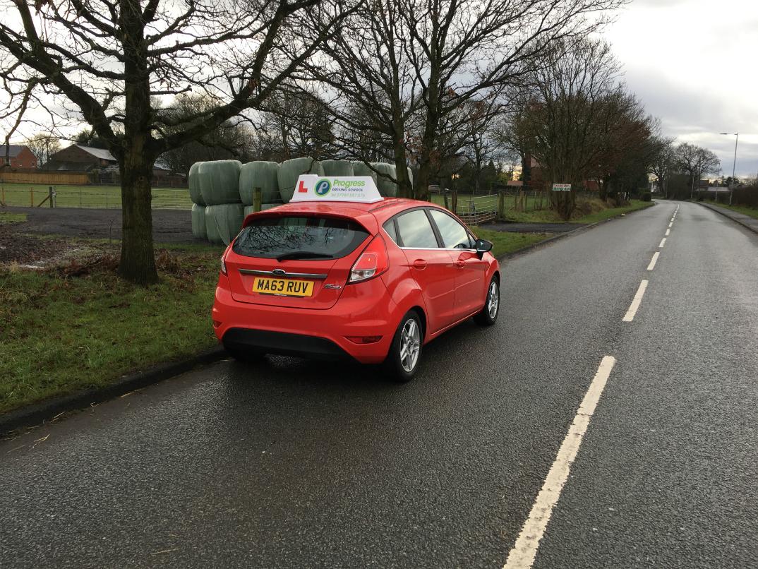 Progress Driving School learner driver car