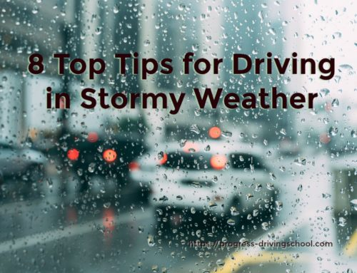 8 top tips for driving in stormy weather